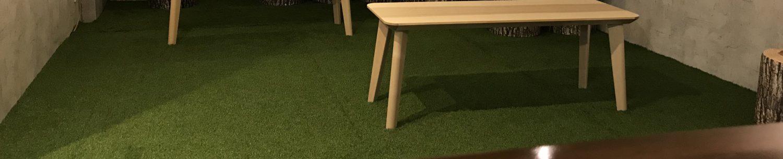 芝生でくつろげるイベントバー【無人島】